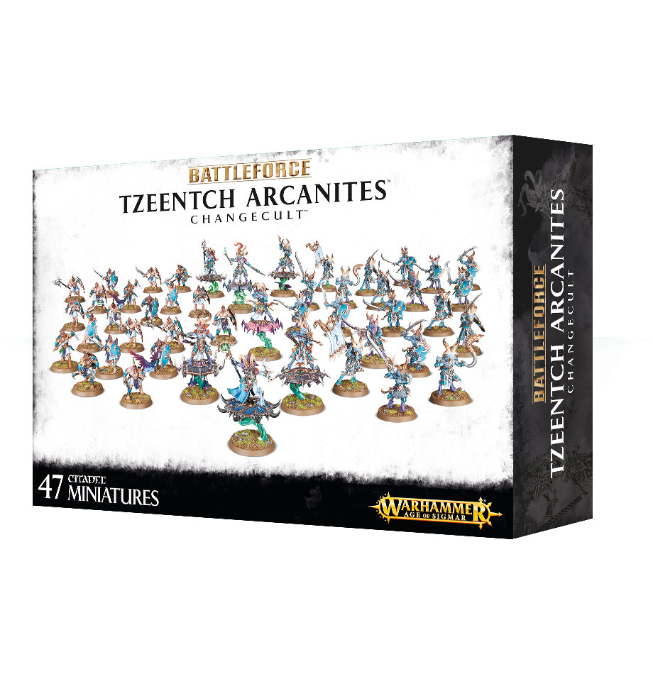 BATTLEFORCE TZEENTCH ARKANITES CHANGECULT SPECIAL ORDER  DICEHEDdotCOM