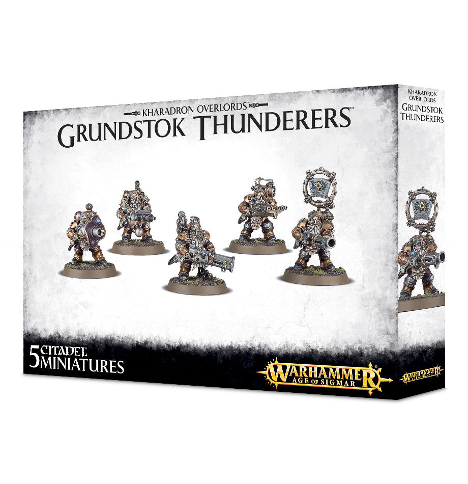 KHARADRON OVERLORDS GRUNDSTOK THUNDERERS DICEHEADdotCOM