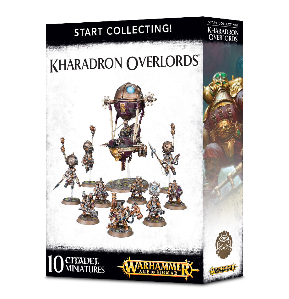 START COLLECTING! KHARADRON OVERLORDS PRE-ORDER DICEHEADdotCOM