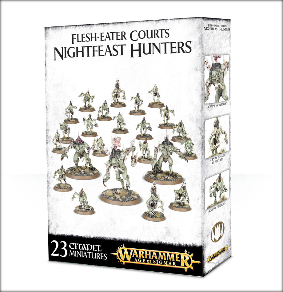 FLESH-EATER COURTS NIGHTFEAST HUNTERS DICEHEADdotCOM