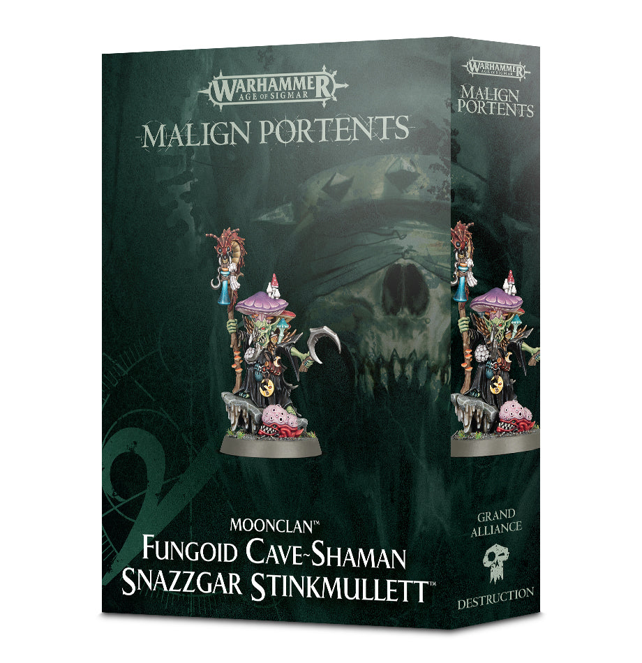 MOONCLAN FUNGOID CAVE SHAMAN SNAZZGAR STINKMULLETT DICEHEADdotCOM