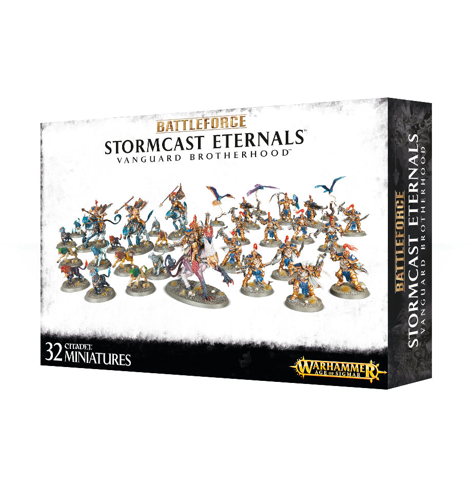 BATTLEFORCE STORMCAST ETERNALS VANGUARD BROTHERHOOD SPECIAL ORDER DICEHEDdotCOM