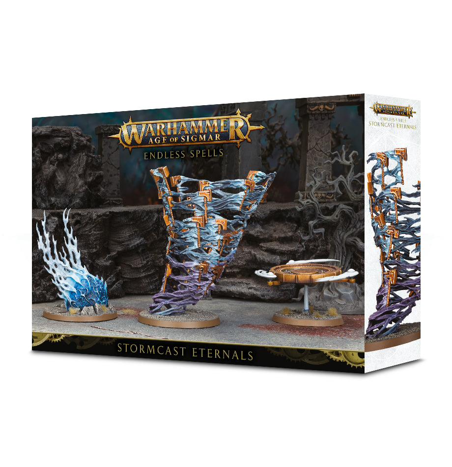 AGE OF SIGMAR ENDLESS SPELLS: STORMHOST ETERNALS DICEHEADdotCOM