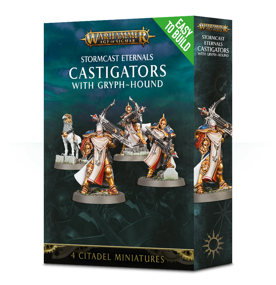 STORMCAST ETERNALS ETB CASTIGATORS WITH GRYPH HOUND PRE-ORDER DICEHEADdotCOM