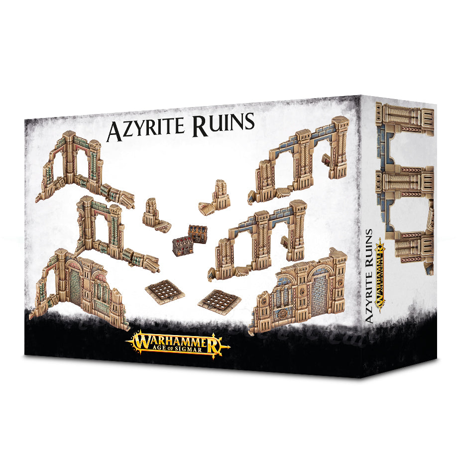 AGE OF SIGMAR AZYRITE RUINS DICEHEADdotCOM