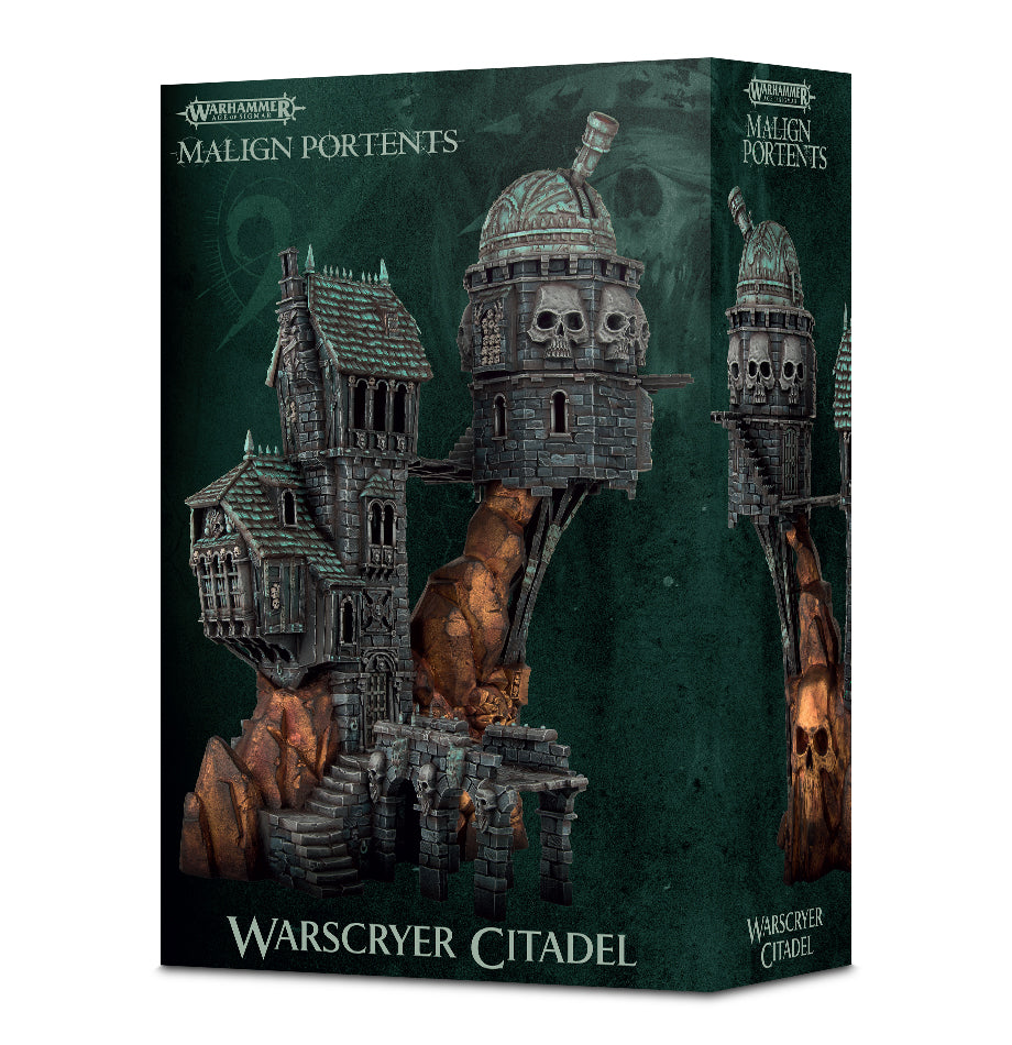 WARSCRYER CITADEL DICEHEADdotCOM (ADD $4 S&H)