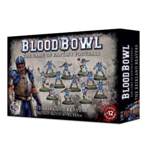 BLOOD BOWL THE REIKLAND REAVERS TEAM DICEHEADdotCOM