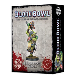 BLOOD BOWL TROLL DICEHEADdotCOM