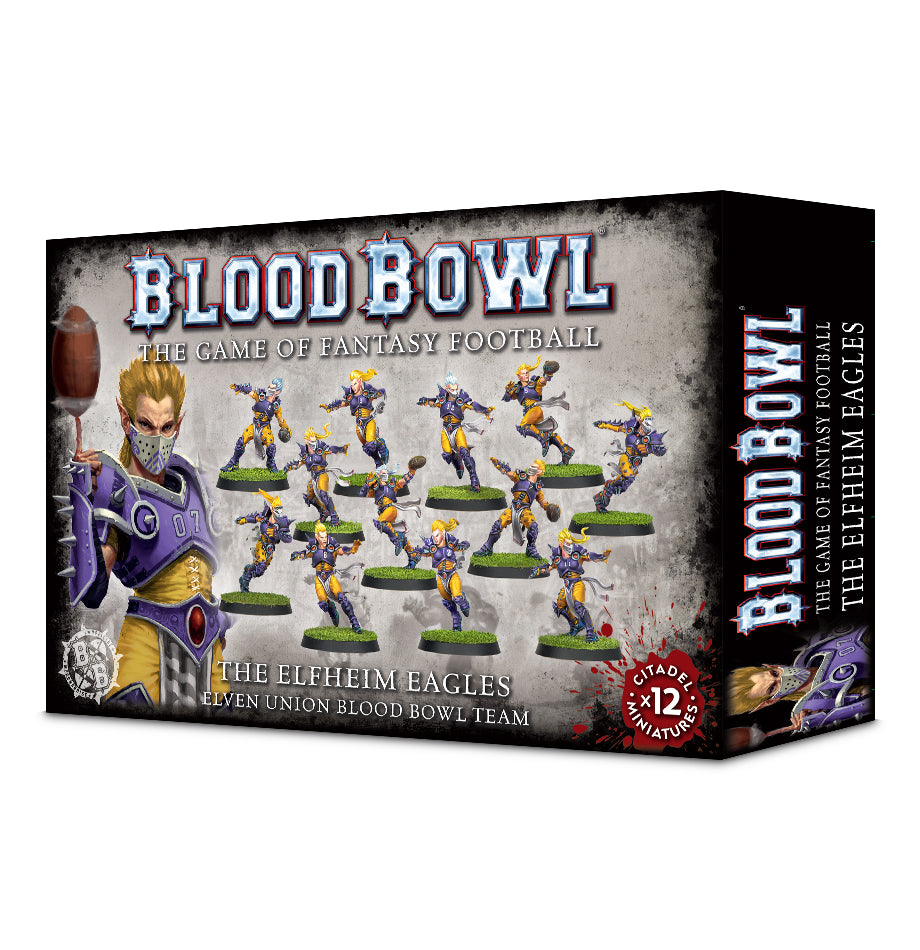Blood Bowl Elfheim Eagles Team DICEHEADdotCOM