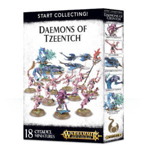 Daemons of Tzeentch Start Collecting! Daemons of Tzeentch DICEHEADdotCOM