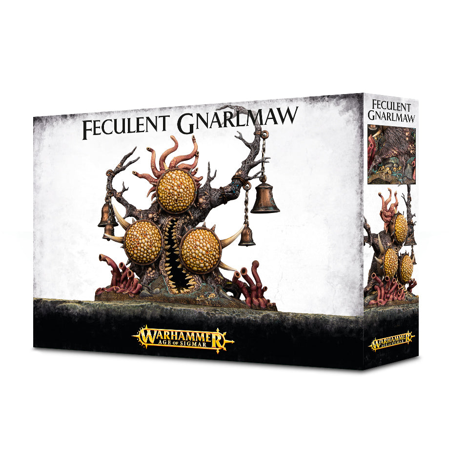 DAEMONS OF CHAOS NURGLE FECULENT GNARLMAW DICEHEADdotCOM