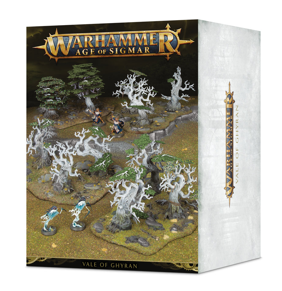 AGE OF SIGMAR TERRAIN VALE OF GHYRAN DICEHEADdotCOM (ADD S&H APPLIES)