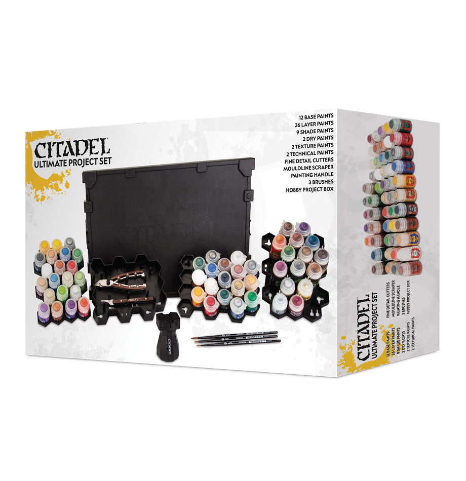 CITADEL ULTIMATE PROJECT PAINT SET 2018 DICEHEADdotCOM (ADD S&H APPLIES)