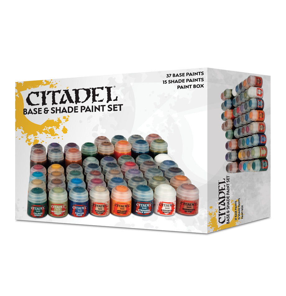 CITADEL BASE AND SHADE PAINT SET (2018) DICEHEADdotCOM (ADD S&H APPLIES)