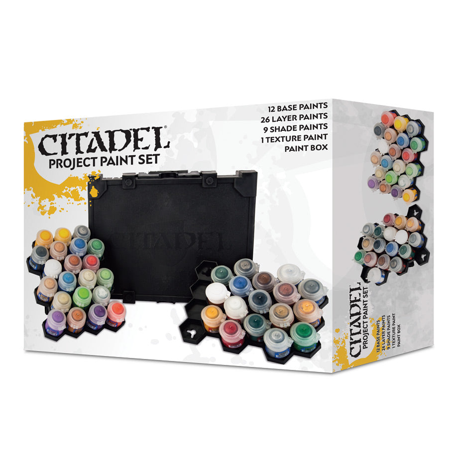CITADEL PROJECT PAINT SET (2018) DICEHEADdotCOM (ADD S&H APPLIES)