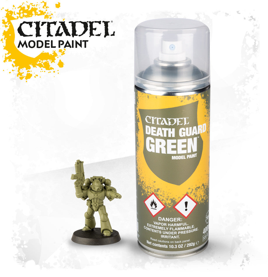 CITADEL DEATH GUARD GREEN SPRAY SPECIAL ORDER DICEHEADdotCOM (ADD $1 S&H)