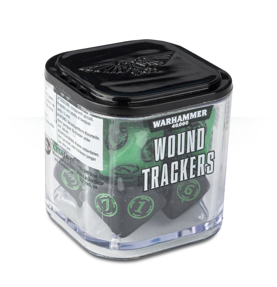 WARHAMMER 40k 8TH ED WOUND TRACKERS  DICEHEADdotCOM