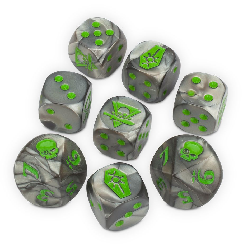 KILL TEAM NECRONS DICE DICEHEADdotCOM
