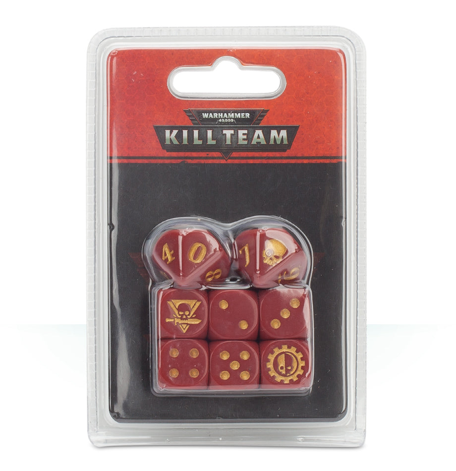 WH 40K KILL TEAM ADEPTUS MECHANICUS DICE DICEHEADdotCOM