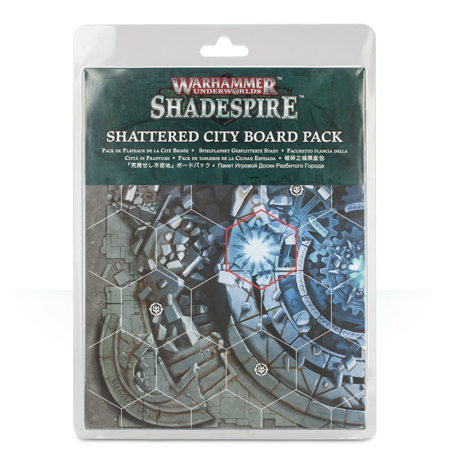 SHADESPIRE SHATTERED CITY BOARDS PRE-ORDER DICEHEADdotCOM