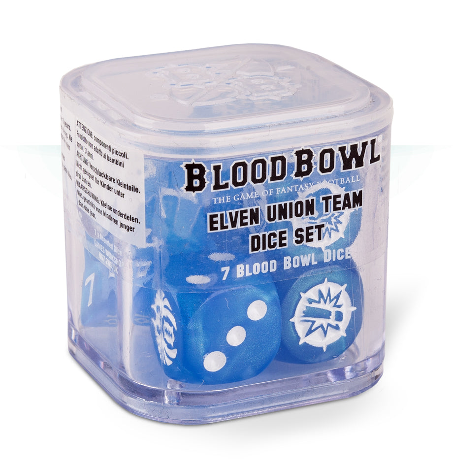 Blood Bowl Elven Union Dice DICEHEADdotCOM