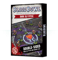 BLOOD BOWL DARK ELF PITCH & DUGOUTS PRE-ORDER DICEHEADdotCOM