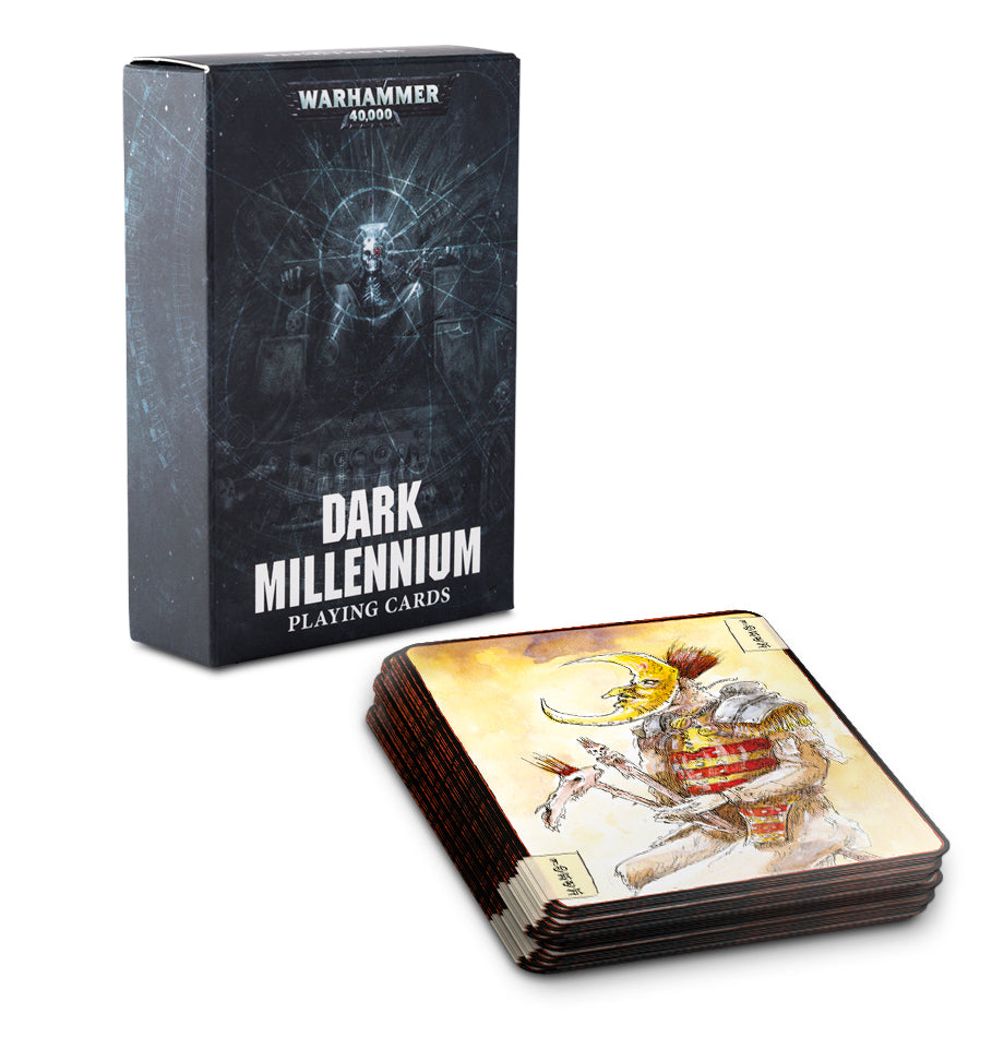 DARK MILLENNIUM PLAYING CARDS DICEHEADdotCOM