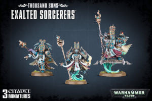 Chaos Space Marines THOUSAND SONS EXALTED SORCERERS  DICEHEADdotCOM