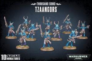 Chaos Space Marines THOUSAND SONS TZAANGORS DICEHEADdotCOM