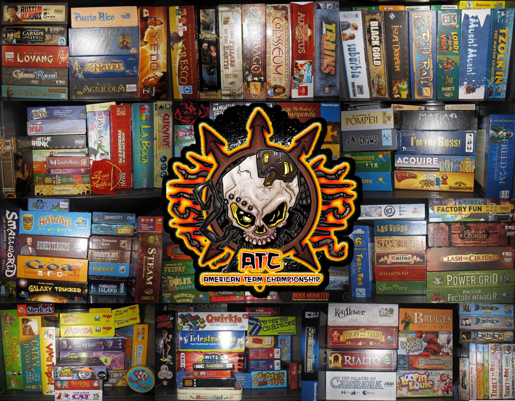 ATC Open Board Gaming Ticket
