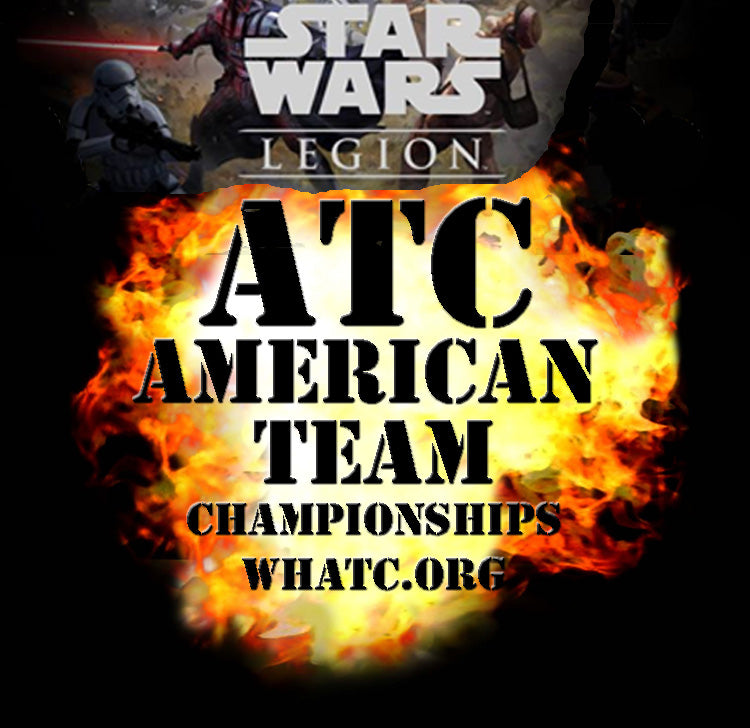 ATC Star Wars Legion Team Event Ticket (1 Ticket = Admission for 2 Players)