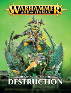 Age of Sigmar GRAND ALLIANCE DESTRUCTION DICEHEADdotCOM