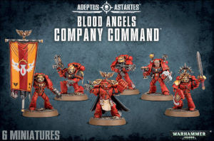 BLOOD ANGELS COMPANY COMMAND DICEHEADdotCOM