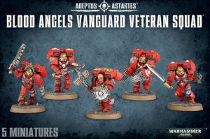 BLOOD ANGELS VANGUARD VETERAN SQUAD DICEHEADdotCOM
