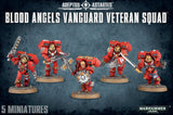 BLOOD ANGELS VANGUARD VETERAN SQUAD SPECIAL ORDER DICEHEADdotCOM