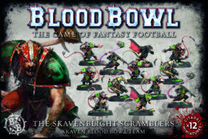 BLOOD BOWL SKAVENBLIGHT SCRAMBLERS DICEHEADdotCOM