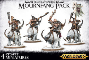 Beastclaw Raiders Mournfang Pack DICEHEADdotCOM
