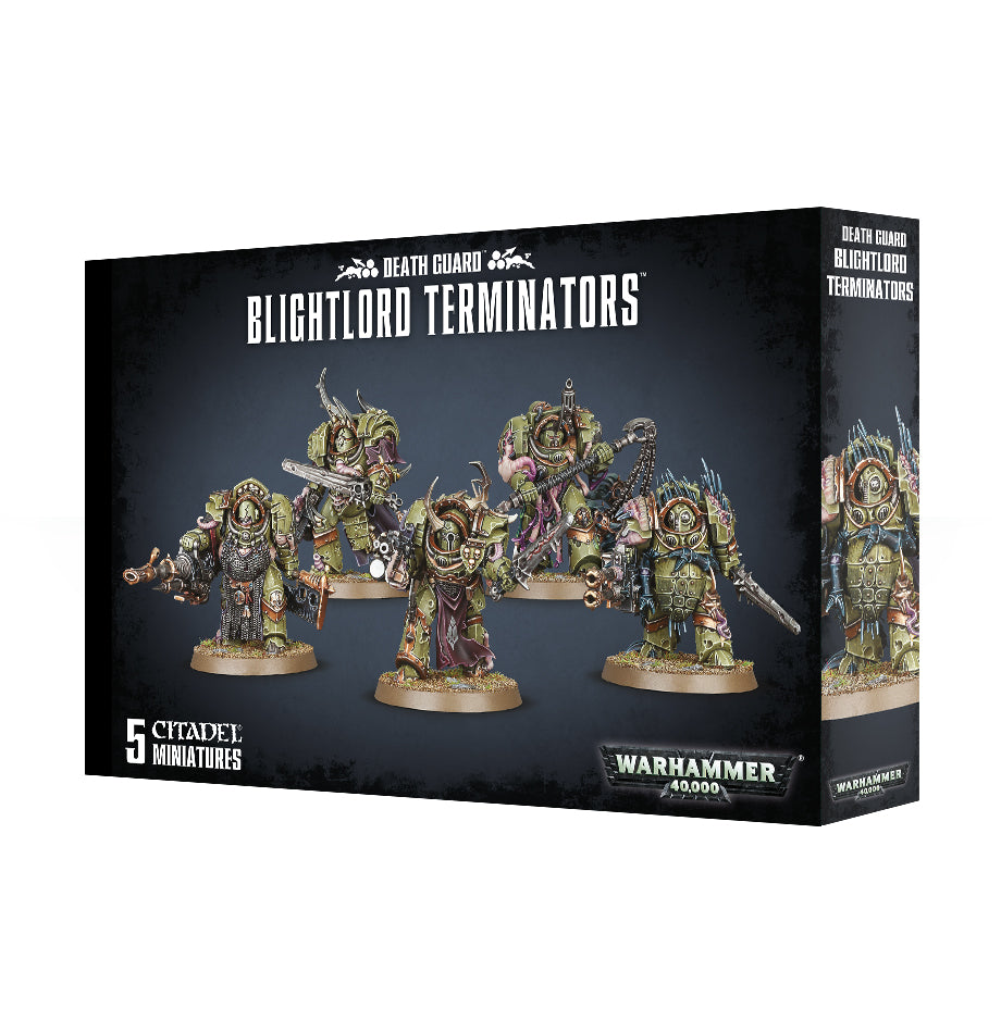 DEATH GUARD BLIGHTLORD TERMINATORS DICEHEADdotCOM