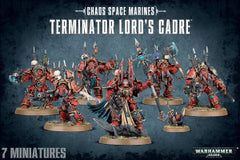 CHAOS S/MARINES TERMINATOR LORDS CADRE DICEHEADdotCOM