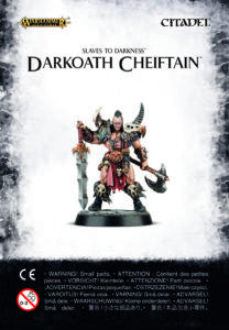 Warhammer Quest Darkoath Chieftan DICEHEADdotCOM