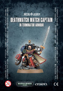 DEATHWATCH WATCH CAPTAIN IN TERMINATOR ARMOUR DICEHEADdotCOM