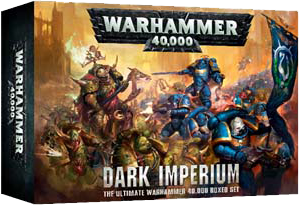 WARHAMMER 40000 8TH ED DARK IMPERIUM 40K BOXED GAME DICEHEADdotCOM PRE-ORDER
