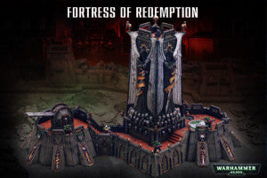 40k Terrain FORTRESS OF REDEMPTION  DICEHEADdotCOM