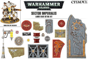 CITADEL SECTOR IMPERIALIS LARGE BASE DETAIL KIT  DICEHEADdotCOM