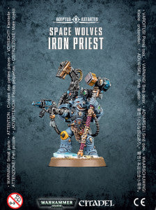SPACE WOLVES IRON PRIEST  DICEHEADdotCOM