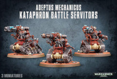 ADEPTUS MECHANICUS KATAPHRON BATTLE SERVITORS  BREACHERS / DESTROYERS DICEHEADdotCOM