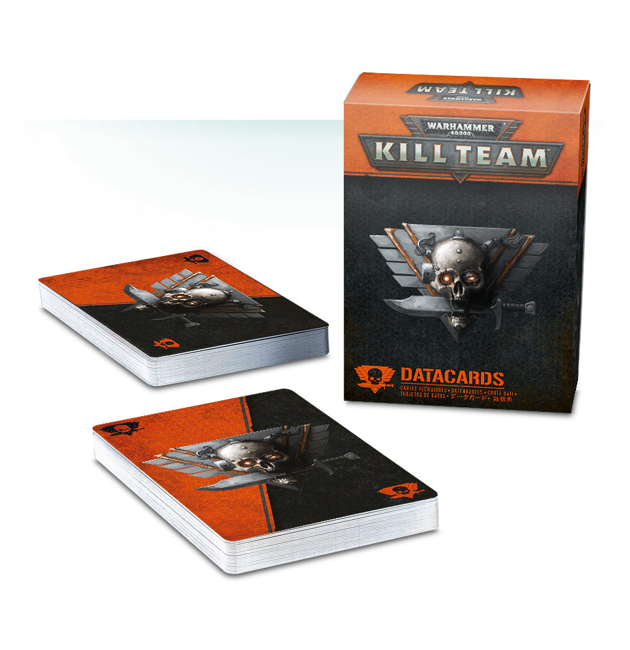 WH 40K KILL TEAM DATA CARDS DICEHEADdotCOM