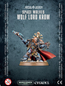 SPACE WOLVES WOLF LORD KROM DICEHEADdotCOM