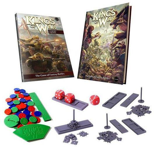 Kings of War: 2nd Edition Deluxe RULEBOOK