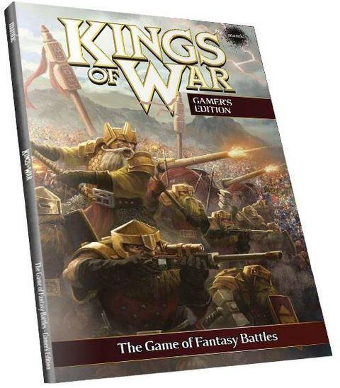 Kings of War: 2nd Edition Softback RULEBOOK